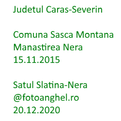 Sasca Montana - Slatina-Nera